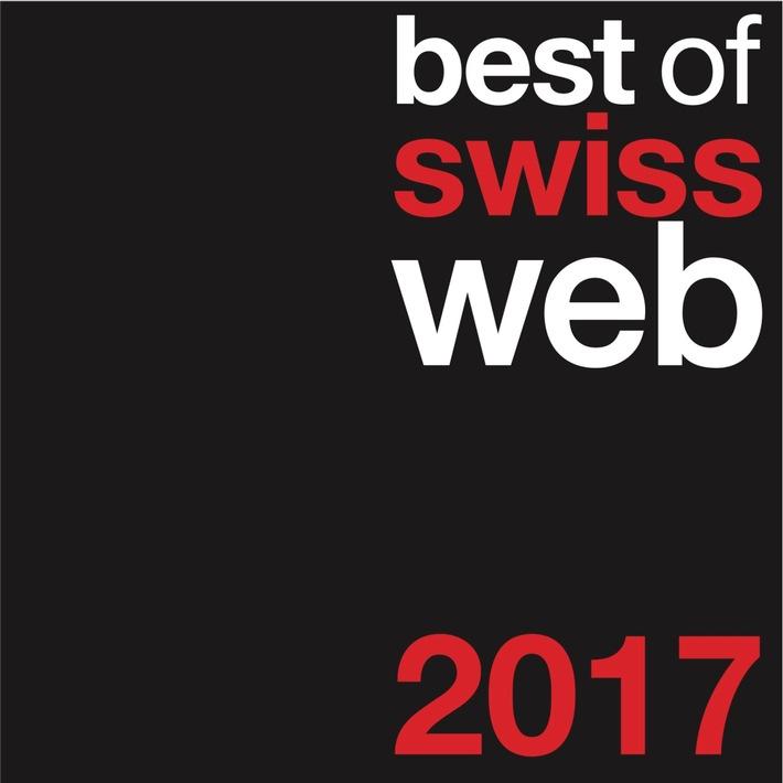 Best of Swiss Web 2017 - Mise au concours ouverte