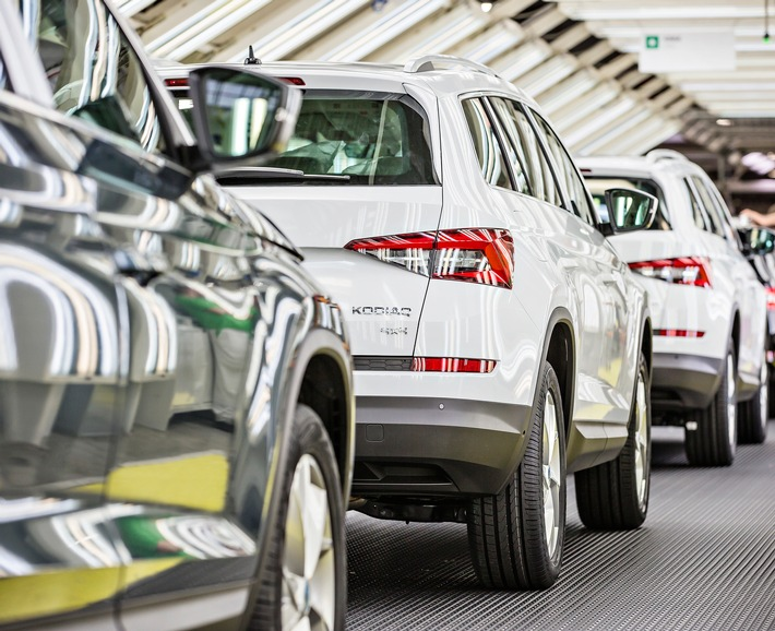 70 Jahre Produktion von SKODA Automobilen in Kvasiny