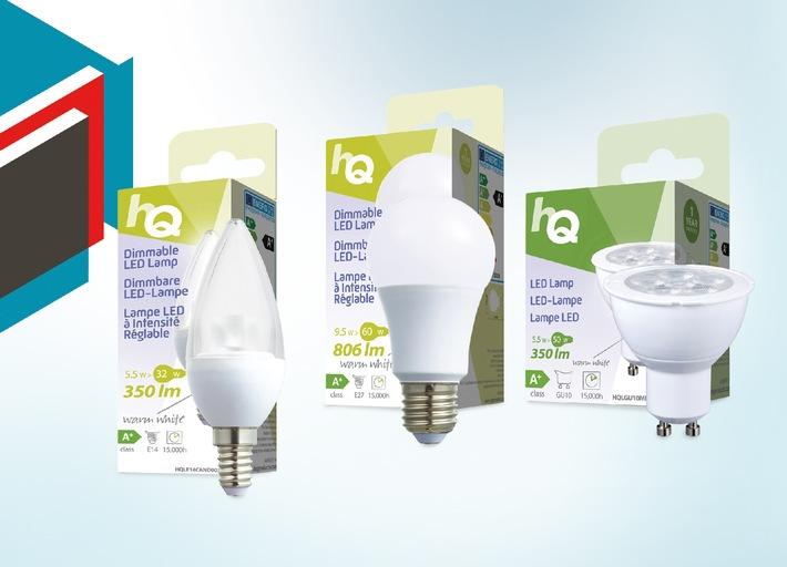 Jetzt neu bei Distrelec: Hochwertige LED-Lampen zum kleinen Preis