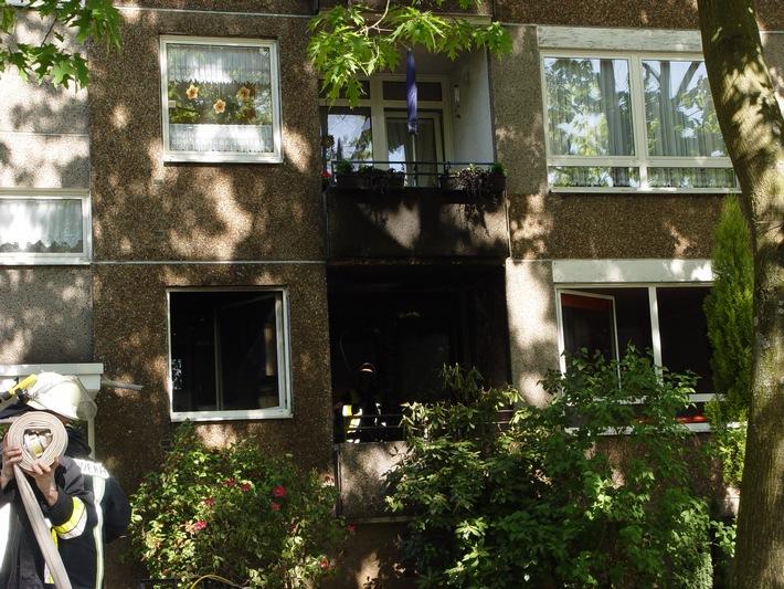 FW-E: Wohnungsbrand in Freisenbruch