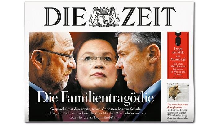 """DIE ZEIT 8/18 / Weiterer Text über ots und www.presseportal.de/nr/9377 / Die Verwendung dieses Bildes ist für redaktionelle Zwecke honorarfrei. Veröffentlichung bitte unter Quellenangabe: """"obs/DIE ZEIT"""""""