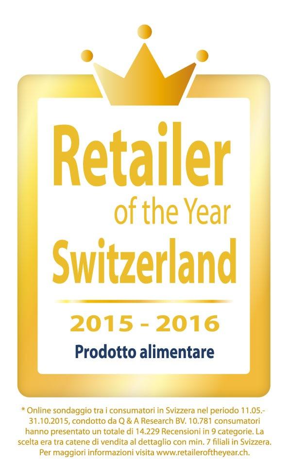 """Lidl Svizzera """"Retailer of the Year"""" categoria """"Prodotto alimentare"""" Testo complementare con ots e su www.presseportal.ch/fr/nr/100016795?langid=4 /  L' utilizzo di quest'immagine è gratuito per scopi redazionali. Pubblicazione sotto indicazione di fonte: """"obs/LIDL Schweiz"""""""