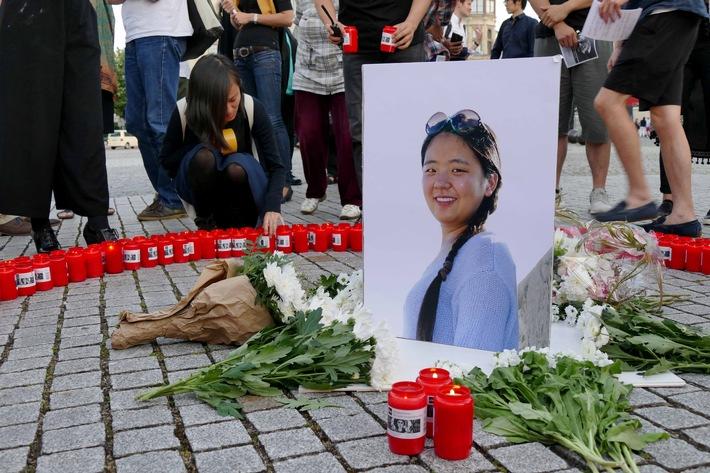 """Die chinesische Studentin Yangjie Li wurde im Mai 2016 in Dessau ermordet. Weiterer Text über ots und www.presseportal.de/nr/105413 / Die Verwendung dieses Bildes ist für redaktionelle Zwecke honorarfrei. Veröffentlichung bitte unter Quellenangabe: """"obs/ZDFinfo/Ting Ting Wu"""""""