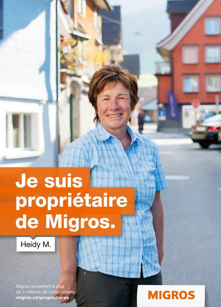 Propriétaire de Migros
