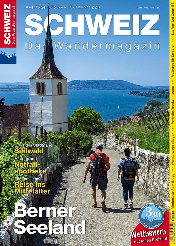 Wandermagazin SCHWEIZ: Vom Schiff auf den Wanderweg