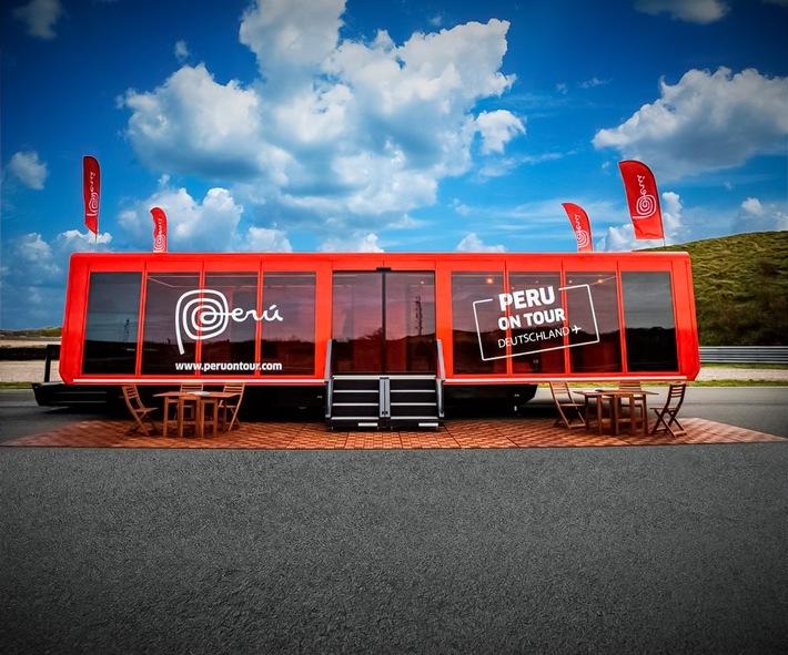 """Der Truck """"Peru On Tour"""" macht in Hamburg und München Halt. / Weiterer Text über ots und www.presseportal.de/nr/158496 / Die Verwendung dieses Bildes ist für redaktionelle Zwecke unter Beachtung ggf. genannter Nutzungsbedingungen honorarfrei. Veröffentlichung bitte mit Bildrechte-Hinweis."""