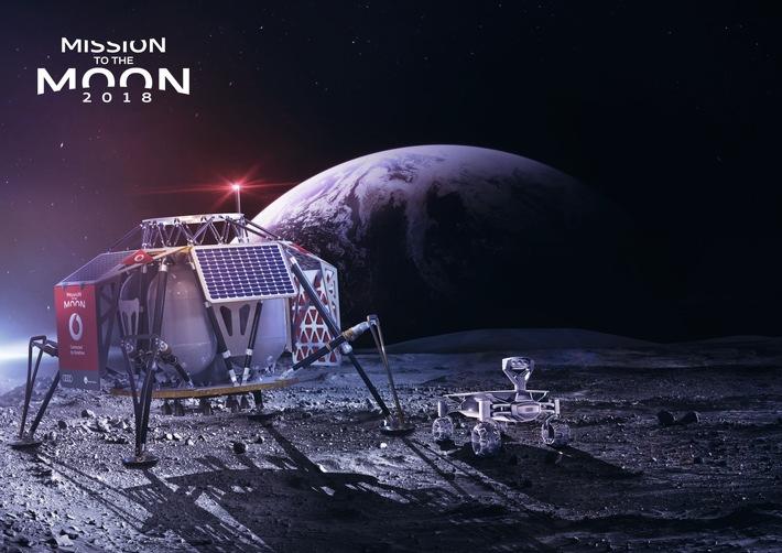 IFA 2017: Vodafone und PTScientists bringen den Mond auf die Messe