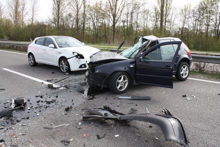 Entenfamilie löst schweren Unfall aus