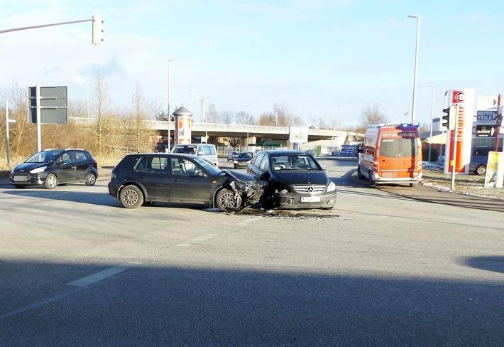POL-SN: Verkehrsunfall mit Personenschaden