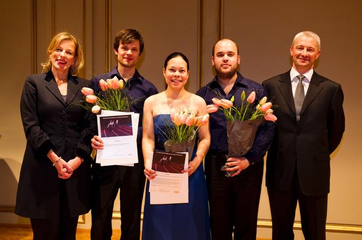 14e concours de musique de chambre du Pour-cent culturel Migros / Double distinction pour le Trio Rafale de Zurich