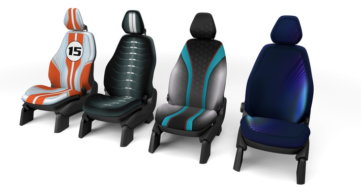 The car as a living space: home-like seating / IAA 2015: Johnson Controls presents solutions to the individualization megatrend