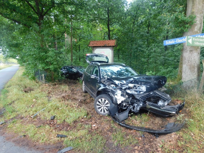 Unfall mit Schwerverletzten