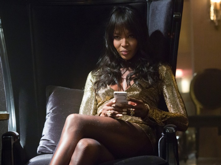 "Naomi Campbell in ""Empire"""