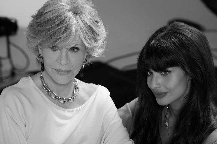 Jane Fonda und Jameela Jamil Pomellato for Women Video / Weiterer Text über ots und www.presseportal.de/nr/153841 / Die Verwendung dieses Bildes ist für redaktionelle Zwecke unter Beachtung ggf. genannter Nutzungsbedingungen honorarfrei. Veröffentlichung bitte mit Bildrechte-Hinweis.