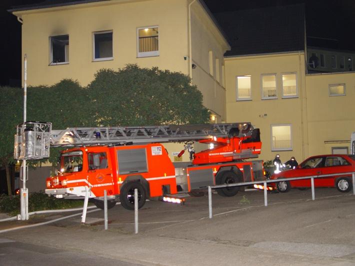 FW-E: Feuer im Wohnheim