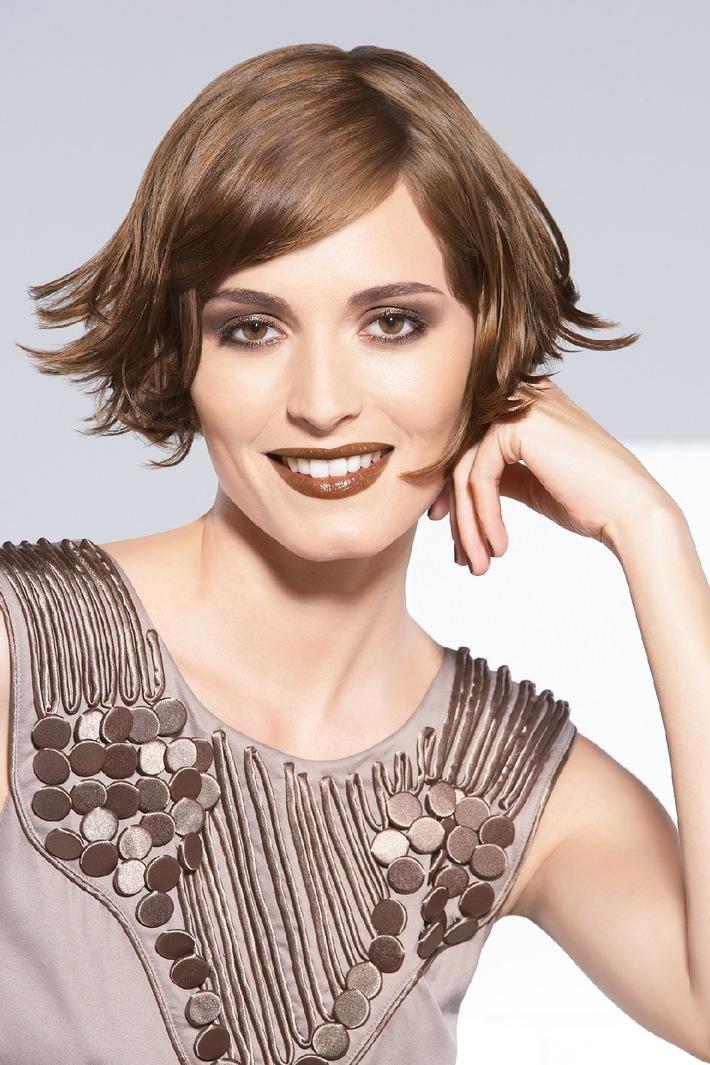 Trendfarbe Braun kommt / Das Herbst Make-up kombiniert Braun-Nuancen