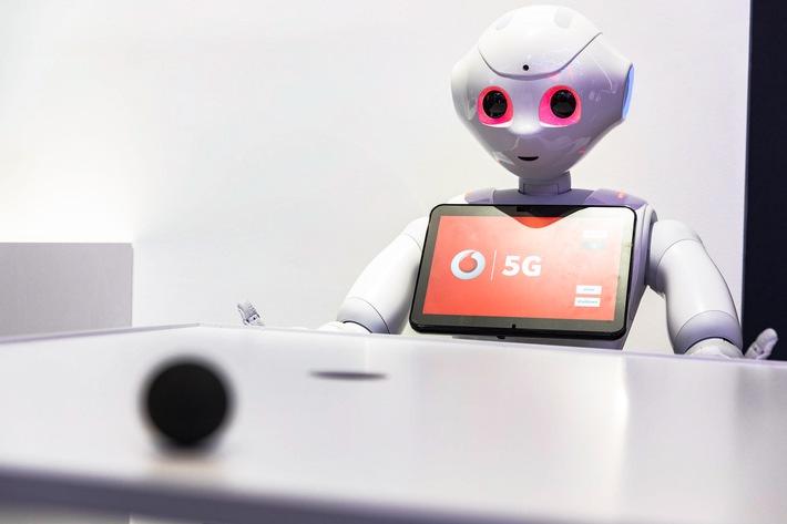 Vodafone und TU Dresden machen Pepper zum Echtzeit-Roboter