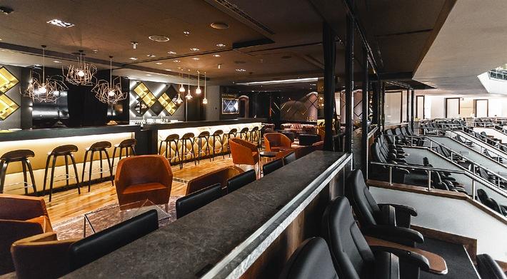 o2 World Berlin bietet zwei neue Premium-Bereiche / Der DIAMOND BALL.ROOM und die DANNEMANN LOUNGE