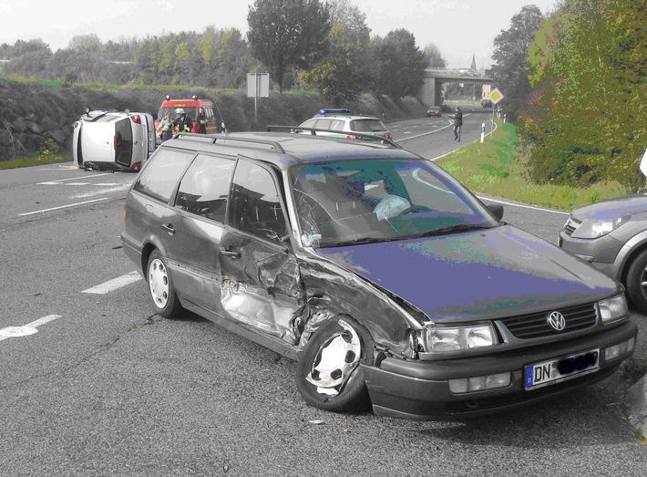 POL-DN: Verkehrsunfallbilanz nach dem ersten Halbjahr 2008