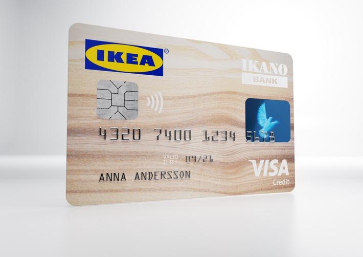 ikea bietet seinen kunden erstmals eine kreditkarte an pressemitteilung ikea deutschland gmbh. Black Bedroom Furniture Sets. Home Design Ideas
