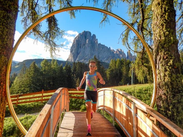 Runner's High auf Monte Pana: Laufen vor der magischen Dolomiten-Kulisse - BILD