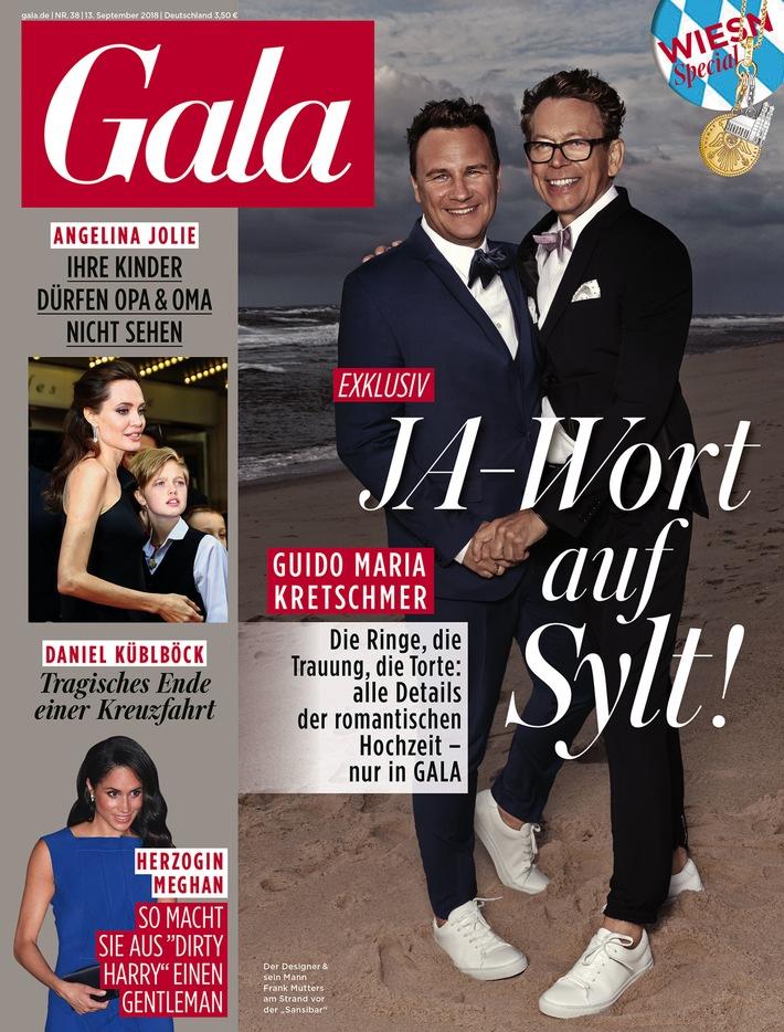 "Cover GALA Heft 38/2018, EVT 13.09.2018 / Weiterer Text über ots und www.presseportal.de/nr/6106 / การใช้ภาพนี้เป็นบริการฟรีสำหรับวัตถุประสงค์ของกองบรรณาธิการ. กรุณาอ้างอิงแหล่งที่มา: ""obs/Gruner+Jahr, Gala"""