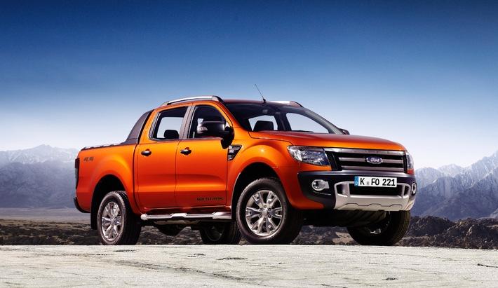 """Ford Ranger ist erneut """"Allradauto des Jahres"""" (BILD)"""