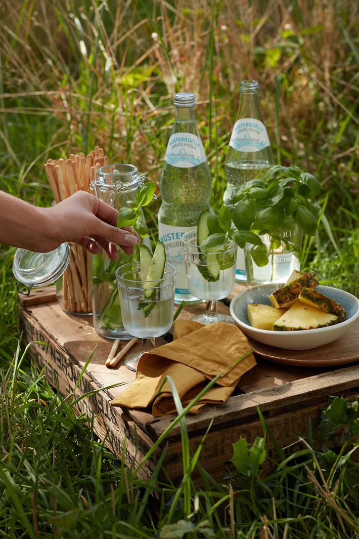 Genug Trinken im Sommer: Fünf einfache Tipps
