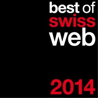 Migros holt mit Minimania Gold am Best of Swiss Web Award 2014 (BILD)