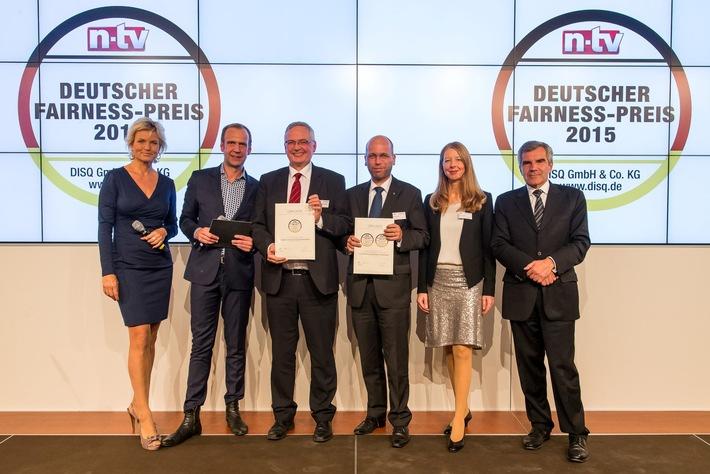 Continentale Versicherungsverbund: Zweifache Auszeichnung mit dem Deutschen Fairness-Preis 2015