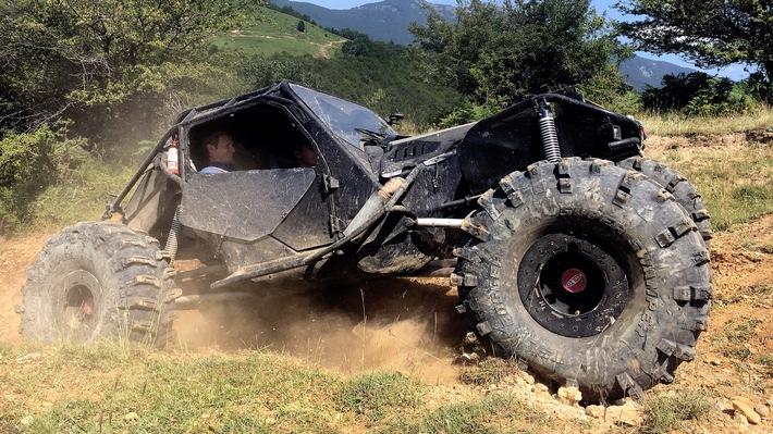 """GRIP - Das Motormagazin: """"Offroad extrem mit dem Ghe-O Predator"""""""