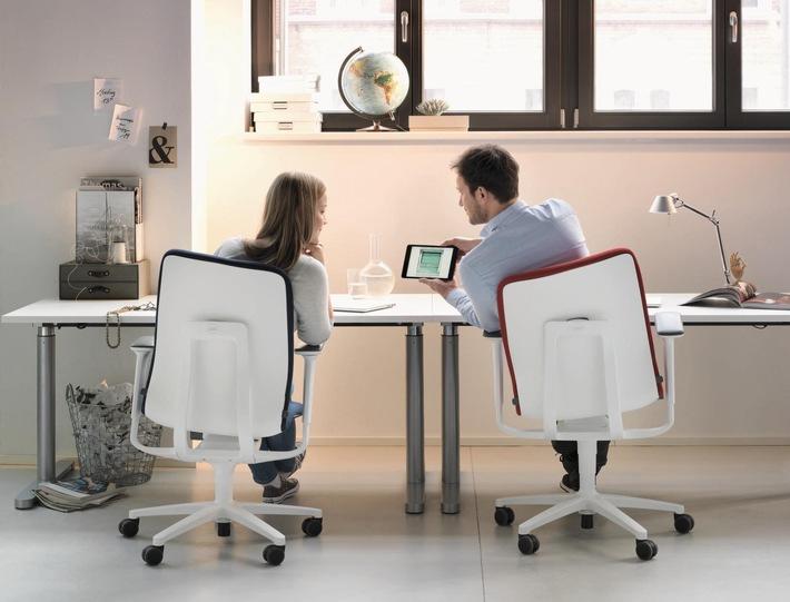 f r mehr bewegung am arbeitsplatz aktiv b rost hle von wilkhahn mit presseportal. Black Bedroom Furniture Sets. Home Design Ideas