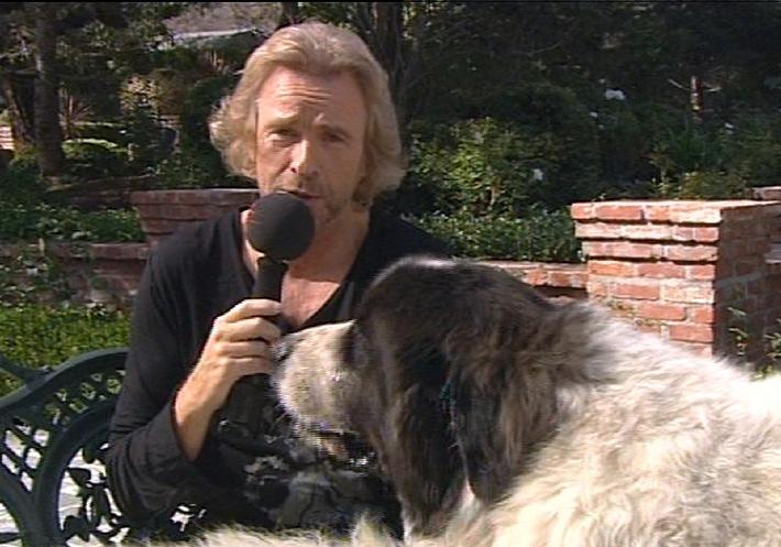 Thomas Gottschalk auf den Hund gekommen/ 'Gottschalks Filmkolumne - Ich liebe Kino', Mittwoch, 11. November, 20.00 Uhr auf Tele 5