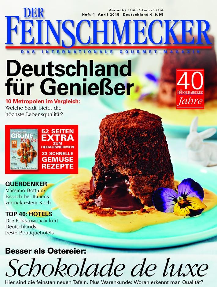 """DER FEINSCHMECKER vergibt die """"WINE AWARDS"""" 2015"""