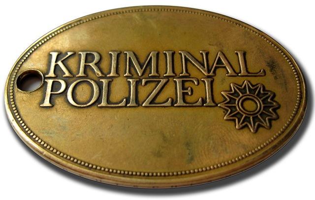 Kriminaldienstmarke