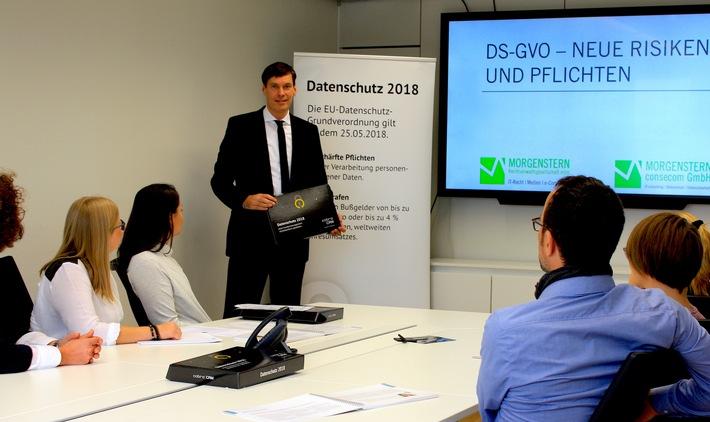 """""""Datenschutz-ready"""" - erste cobra Partner zertifiziert"""