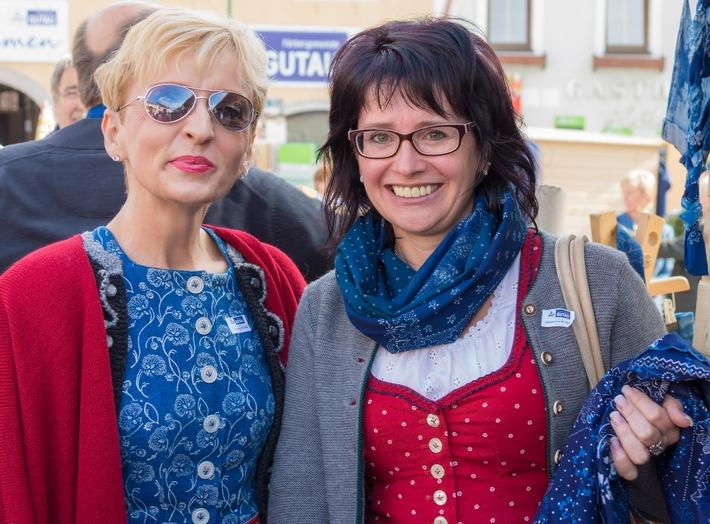 BILD zu OTS - Herzlich willkommen zum Färbermarkt in Gutau