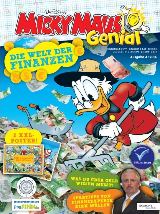 Egmont Ehapa Launcht Toy Story Magazin: Finanztipps Von Den Profis Dagobert Duck Und Dirk Müller