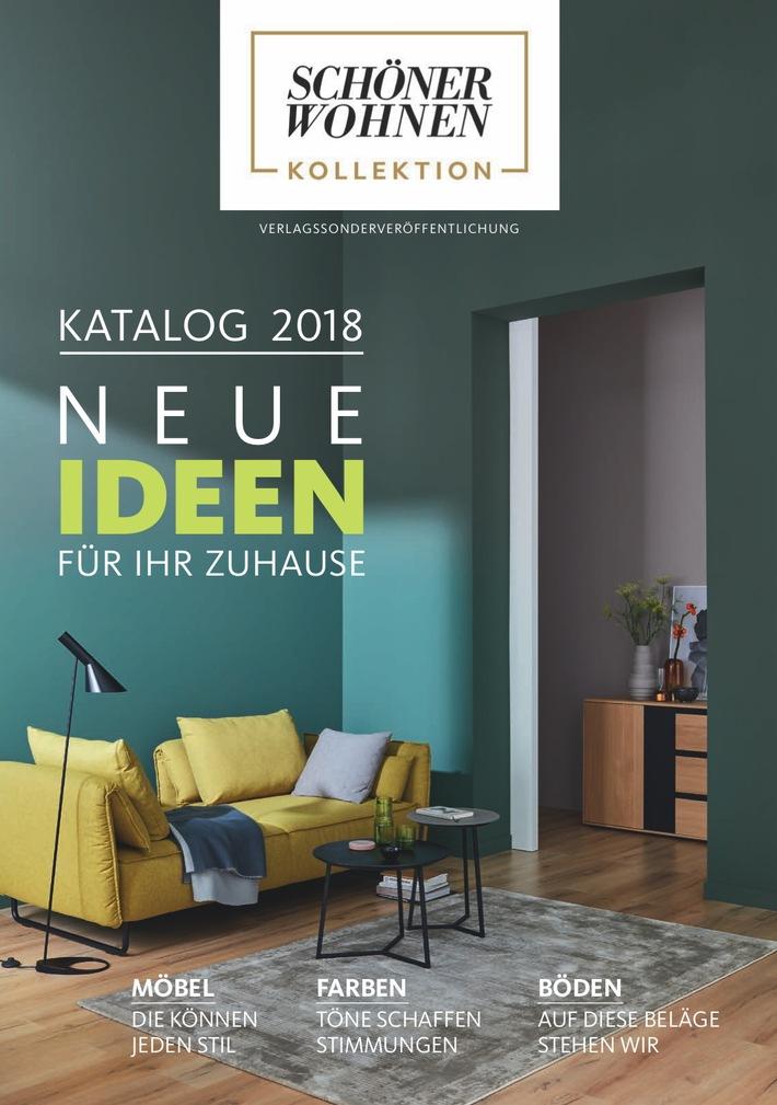 ▷ Neues von der SCHÖNER WOHNEN-Kollektion: Das sind die Trends 2018 ...