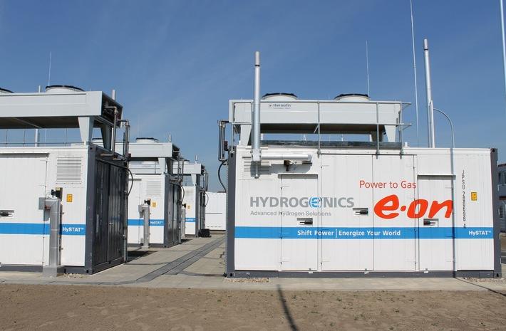 Windgas nimmt Fahrt auf / Hohes Interesse an innovativem Erdgas-Produkt von E.ON
