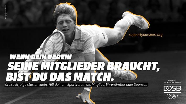 picture alliance unterstützt DOSB-Kampagne #SupportYourSport (FOTO)