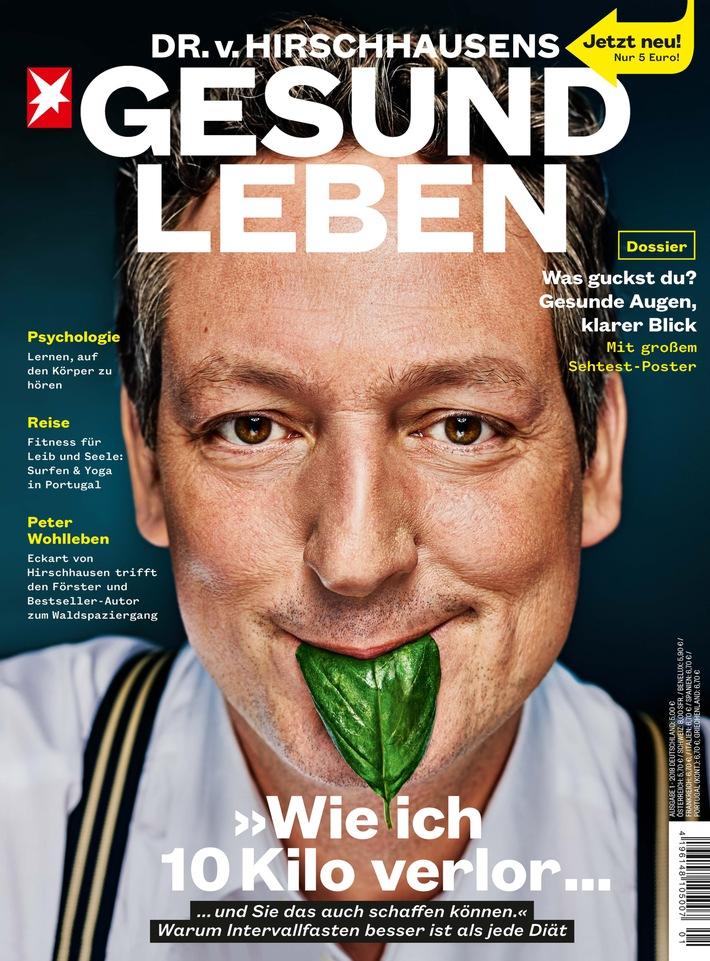 Magazin-Neustart: DR. v. HIRSCHHAUSENS STERN GESUND LEBEN ab 3. Januar im Handel