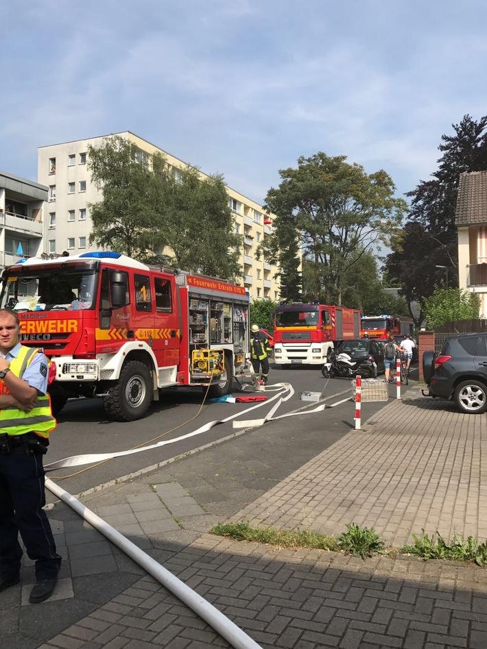 Küchenbrand Eisenstraße