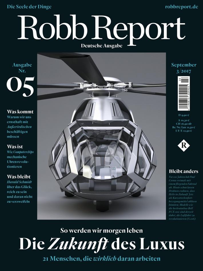 ROBB REPORT Deutschland komplettiert das Redaktionsteam / Medienkompetenz formiert sich