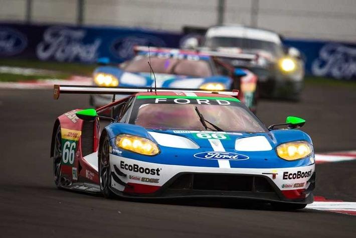 Langstrecken-WM (WEC) in Mexiko: Ford GT verpassen beim Sechsstundenrennen erhofftes Top-Ergebnis