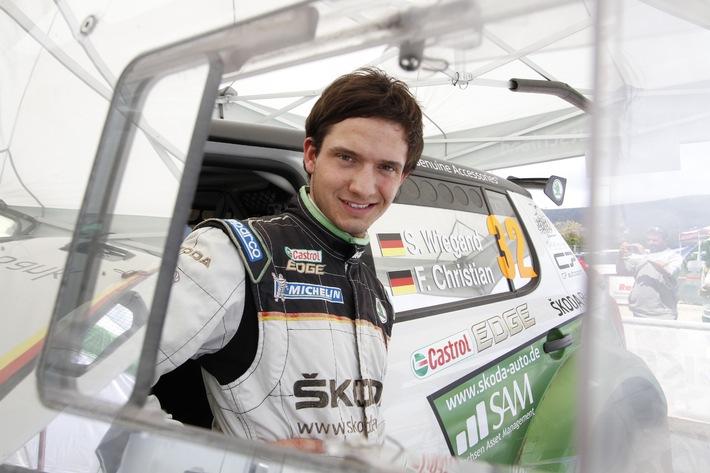 SKODA AUTO Deutschland-Pilot Sepp Wiegand startet bei der Rallye Wartburg (BILD)