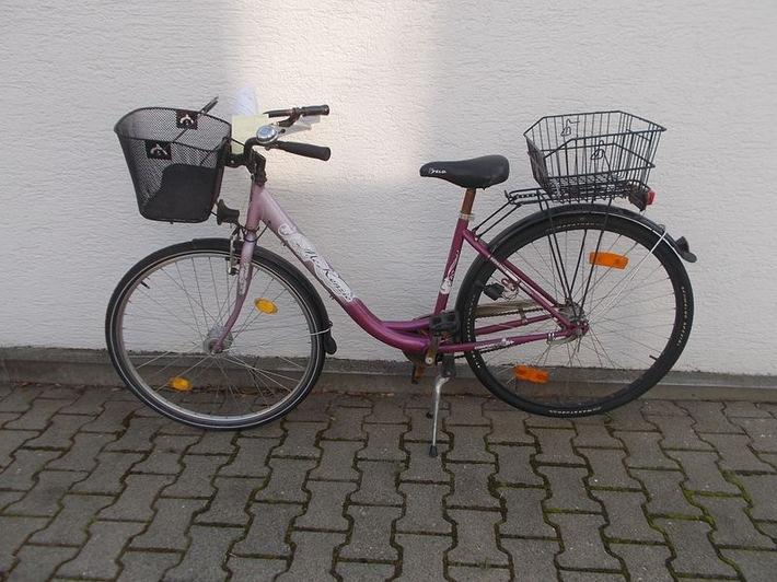 POL-PDLU: (Maxdorf)  - entwendetes Fahrrad sichergestellt