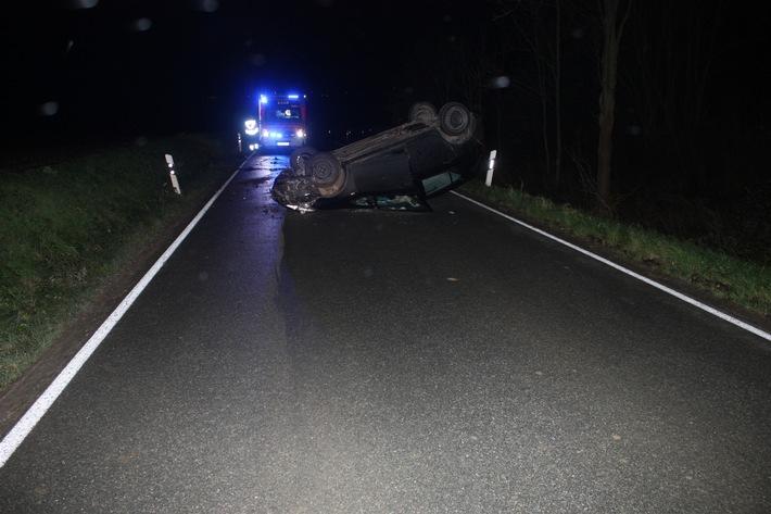 POL-HX: Junge Fahrerin bei Unfall leicht verletzt