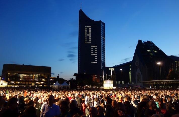 """Lichtfest Leipzig 2017 - """"Aufbruch - Verantwortung - Offenheit"""""""