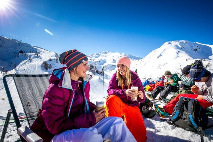 Genuss-Skifahren in der Salzburger Sportwelt - BILD